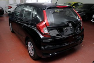 2018 Honda Jazz GF MY19 VTi Crystal Black 5 Speed Manual Hatchback.