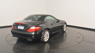 2012 Mercedes-Benz SLK200 R172 BlueEFFICIENCY 7G-Tronic + Black 7 Speed Sports Automatic Roadster