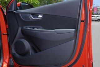 2017 Hyundai Kona OS MY18 Active D-CT AWD Tangerine Comet 7 Speed Sports Automatic Dual Clutch Wagon