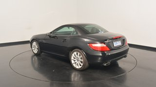 2012 Mercedes-Benz SLK200 R172 BlueEFFICIENCY 7G-Tronic + Black 7 Speed Sports Automatic Roadster.