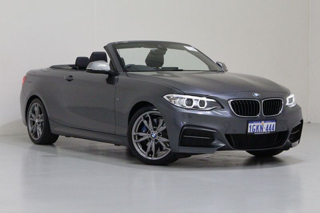 Used BMW 228I F23 MY17 M Sport, 2017 BMW 228I F23 MY17 M Sport Grey 8 Speed Automatic Convertible