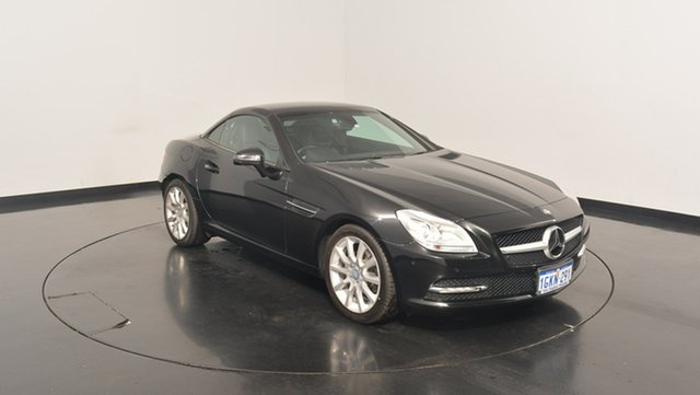 Used Mercedes-Benz SLK200 R172 BlueEFFICIENCY 7G-Tronic +, 2012 Mercedes-Benz SLK200 R172 BlueEFFICIENCY 7G-Tronic + Black 7 Speed Sports Automatic Roadster