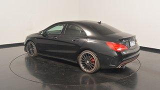 2015 Mercedes-Benz CLA250 C117 805+055MY Sport DCT 4MATIC Black 7 Speed Sports Automatic Dual Clutch.