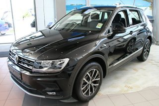 2018 Volkswagen Tiguan 5N MY18 132TSI DSG 4MOTION Comfortline Deep Black Pearl Effect 7 Speed.