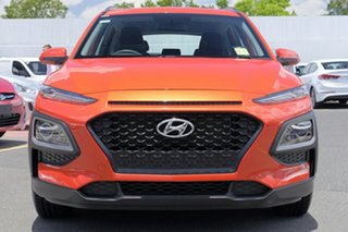 2017 Hyundai Kona OS MY18 Active D-CT AWD Tangerine Comet 7 Speed Sports Automatic Dual Clutch Wagon