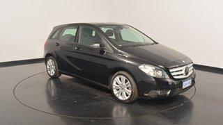 2014 Mercedes-Benz B180 W246 DCT Night Black 7 Speed Sports Automatic Dual Clutch Hatchback