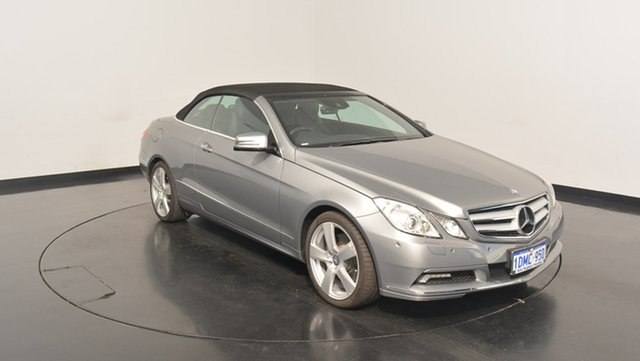 Used Mercedes-Benz E350 A207 Avantgarde 7G-Tronic, 2010 Mercedes-Benz E350 A207 Avantgarde 7G-Tronic Grey 7 Speed Sports Automatic Cabriolet