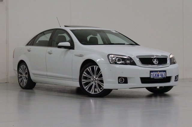 Used Holden Caprice WN MY16 V, 2015 Holden Caprice WN MY16 V White 6 Speed Auto Active Sequential Sedan