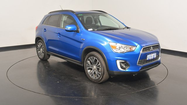 Used Mitsubishi ASX XB MY15.5 LS 2WD, 2016 Mitsubishi ASX XB MY15.5 LS 2WD Lightning Blue 6 Speed Constant Variable Wagon