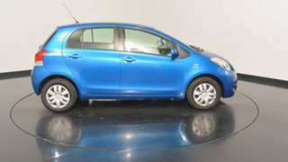 2010 Toyota Yaris NCP90R MY10 YR Blue 5 Speed Manual Hatchback