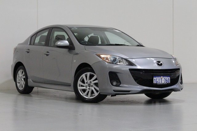 Used Mazda 3 BL MY13 SP20 Skyactiv, 2013 Mazda 3 BL MY13 SP20 Skyactiv Silver 6 Speed Automatic Sedan