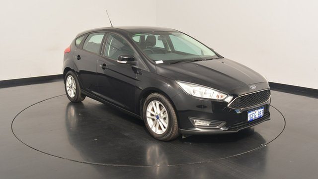 Used Ford Focus LZ Trend, 2016 Ford Focus LZ Trend Panther Black 6 Speed Automatic Hatchback