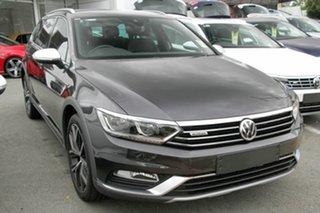 2017 Volkswagen Passat 3C (B8) MY18 Alltrack DSG 4MOTION Wolfsburg Edition Manganese Grey Metallic.
