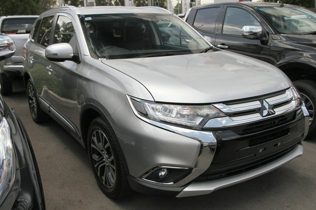 New Mitsubishi Outlander ZL MY18.5 LS 2WD, 2018 Mitsubishi Outlander ZL MY18.5 LS 2WD Starlight 6 Speed Constant Variable Wagon