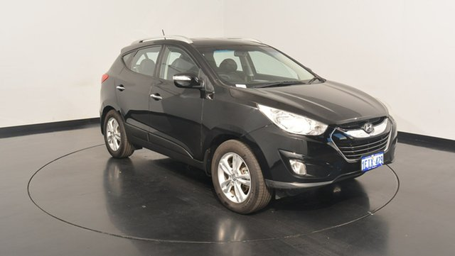 Used Hyundai ix35 LM2 Elite AWD, 2013 Hyundai ix35 LM2 Elite AWD Phantom Black 6 Speed Sports Automatic Wagon