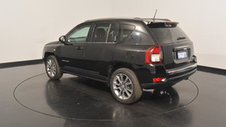 2015 Jeep Compass MK MY15 Limited CVT Auto Stick Black 6 Speed Constant Variable Wagon.