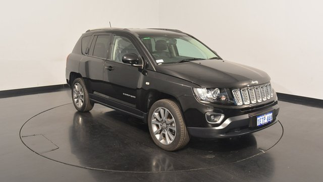 Used Jeep Compass MK MY15 Limited CVT Auto Stick, 2015 Jeep Compass MK MY15 Limited CVT Auto Stick Black 6 Speed Constant Variable Wagon