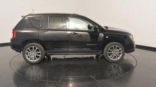 2015 Jeep Compass MK MY15 Limited CVT Auto Stick Black 6 Speed Constant Variable Wagon
