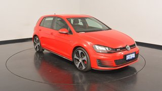 2014 Volkswagen Golf VII MY14 GTI DSG Red 6 Speed Sports Automatic Dual Clutch Hatchback