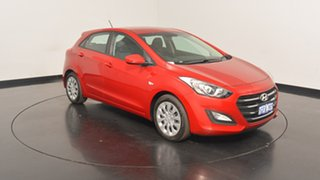 2016 Hyundai i30 GD4 Series II MY17 Active Fiery Red 6 Speed Sports Automatic Hatchback
