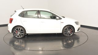 2017 Volkswagen Polo 6R MY17 GTI DSG Pure White 7 Speed Sports Automatic Dual Clutch Hatchback