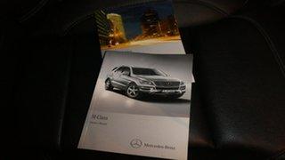 2012 Mercedes-Benz ML250 W166 BlueTEC 7G-Tronic + Silver 7 Speed Sports Automatic Wagon