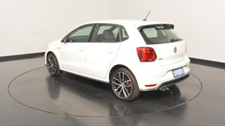 2017 Volkswagen Polo 6R MY17 GTI DSG Pure White 7 Speed Sports Automatic Dual Clutch Hatchback.