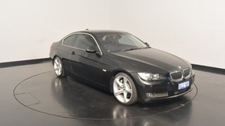 2007 BMW 335i E92 Steptronic Black 6 Speed Sports Automatic Coupe.