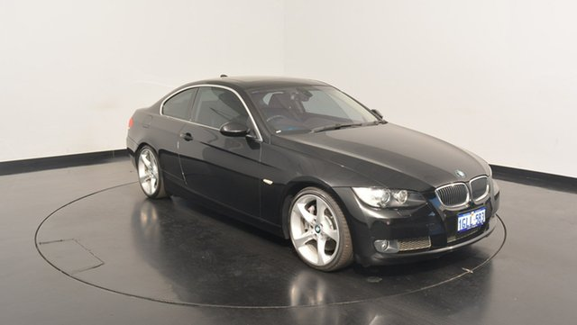 Used BMW 335i E92 Steptronic, 2007 BMW 335i E92 Steptronic Black 6 Speed Sports Automatic Coupe