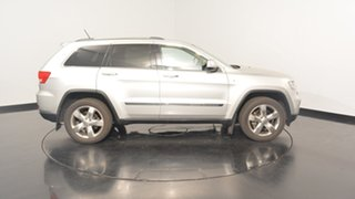 2012 Jeep Grand Cherokee WK MY2012 Overland Silver 6 Speed Sports Automatic Wagon
