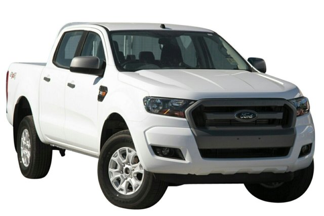 New Ford Ranger PX MkII MY18 XLS Double Cab, 2018 Ford Ranger PX MkII MY18 XLS Double Cab Frozen White 6 Speed Sports Automatic Utility