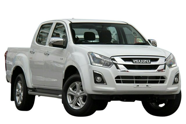 New Isuzu D-MAX MY19 LS-U Crew Cab 4x2 High Ride, 2019 Isuzu D-MAX MY19 LS-U Crew Cab 4x2 High Ride Splash White 6 Speed Sports Automatic Utility