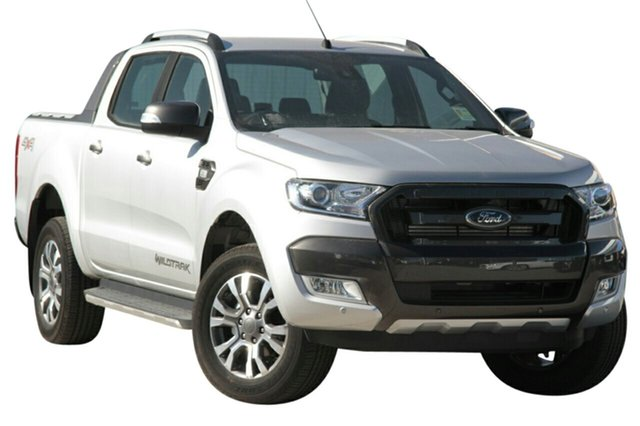 New Ford Ranger PX MkII MY18 Wildtrak Double Cab, 2018 Ford Ranger PX MkII MY18 Wildtrak Double Cab Ingot Silver 6 Speed Sports Automatic Utility