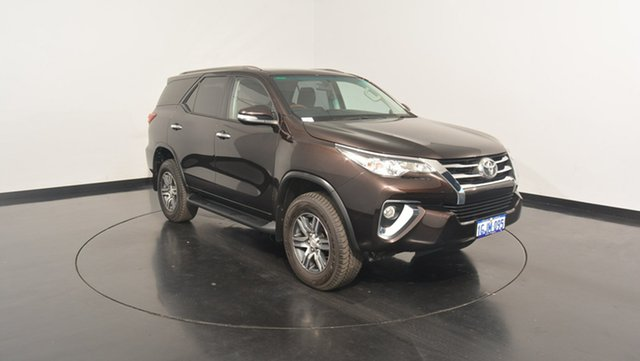 Used Toyota Fortuner GUN156R GXL, 2016 Toyota Fortuner GUN156R GXL Brown 6 Speed Automatic Wagon