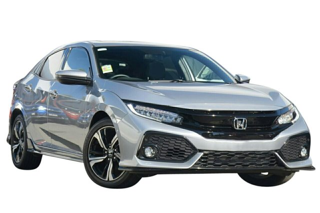 New Honda Civic 10th Gen MY19 RS, 2019 Honda Civic 10th Gen MY19 RS Lunar Silver 1 Speed Constant Variable Hatchback