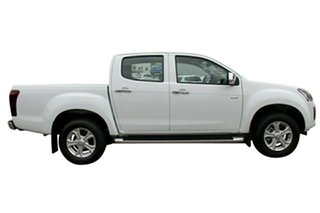 2019 Isuzu D-MAX MY19 LS-U Crew Cab 4x2 High Ride Splash White 6 Speed Sports Automatic Utility