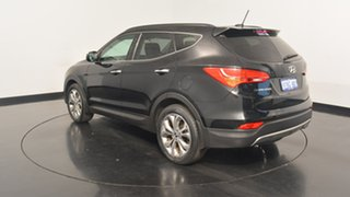 2012 Hyundai Santa Fe DM MY13 Highlander Black 6 Speed Sports Automatic Wagon.