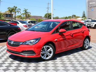 2017 Holden Astra BK MY17 RS Red 6 Speed Sports Automatic Hatchback.