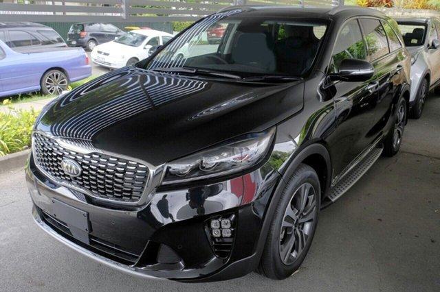 New Kia Sorento UM MY19 GT-Line AWD, 2019 Kia Sorento UM MY19 GT-Line AWD Aurora Black 8 Speed Sports Automatic Wagon