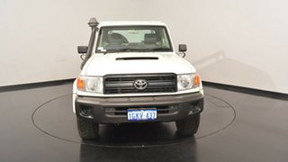 2012 Toyota Landcruiser VDJ79R MY10 GX White 5 Speed Manual Cab Chassis