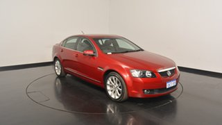 2009 Holden Calais VE MY09.5 V Red 5 Speed Sports Automatic Sedan.
