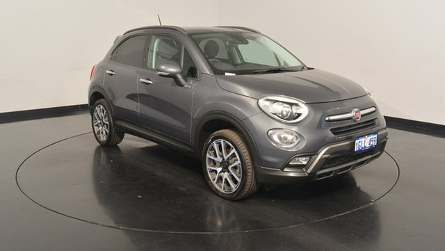 Used Fiat 500X 334 Cross Plus AWD, 2016 Fiat 500X 334 Cross Plus AWD Grey 9 Speed Sports Automatic Wagon