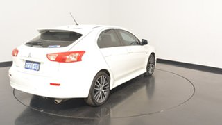 2016 Mitsubishi Lancer CF MY16 GSR Sportback White 6 Speed Constant Variable Hatchback