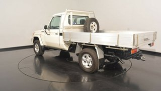2012 Toyota Landcruiser VDJ79R MY10 GX White 5 Speed Manual Cab Chassis.