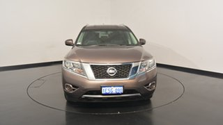 2015 Nissan Pathfinder R52 MY15 ST X-tronic 2WD Bronze 1 Speed Constant Variable Wagon