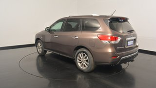 2015 Nissan Pathfinder R52 MY15 ST X-tronic 2WD Bronze 1 Speed Constant Variable Wagon.