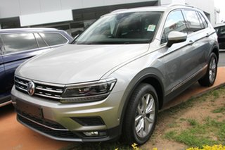 2018 Volkswagen Tiguan 5N MY18 140TDI DSG 4MOTION Highline Tungsten Silver 7 Speed.