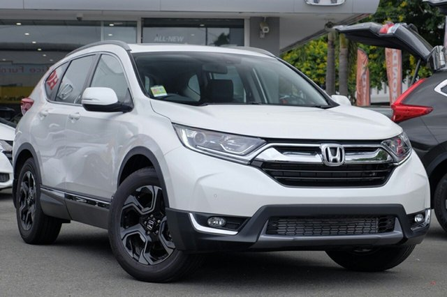 New Honda CR-V RW MY19 VTi-L FWD, 2018 Honda CR-V RW MY19 VTi-L FWD White Orchid 1 Speed Constant Variable Wagon