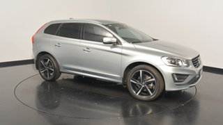 2016 Volvo XC60 DZ MY16 D5 Geartronic AWD R-Design Silver 6 Speed Sports Automatic Wagon