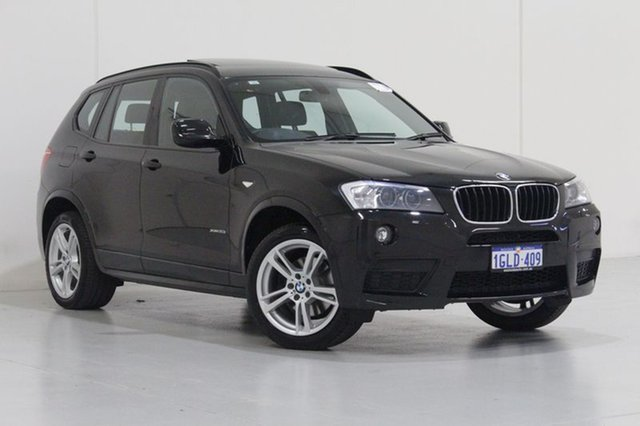Used BMW X3 F25 MY14 xDrive 20I, 2014 BMW X3 F25 MY14 xDrive 20I Black 8 Speed Automatic Wagon